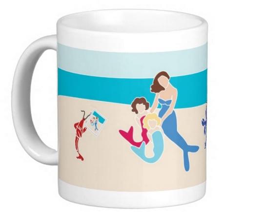Mermaids at the Beach Mug, 11 oz